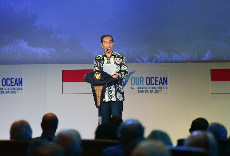 Buka OOC ke-5, Presiden Tekankan Peran & Fungsi Laut