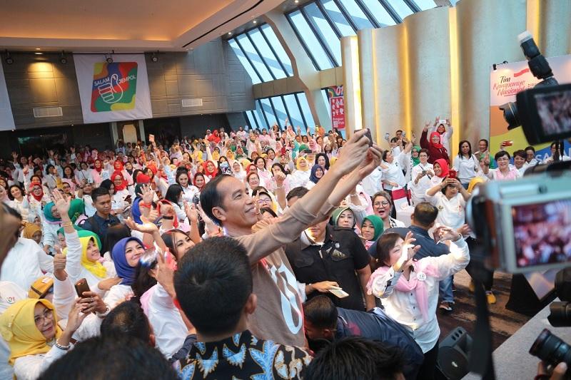 Jokowi Bagikan Jurus Jitu Kampanye Menuju Kemenangan Pemilu
