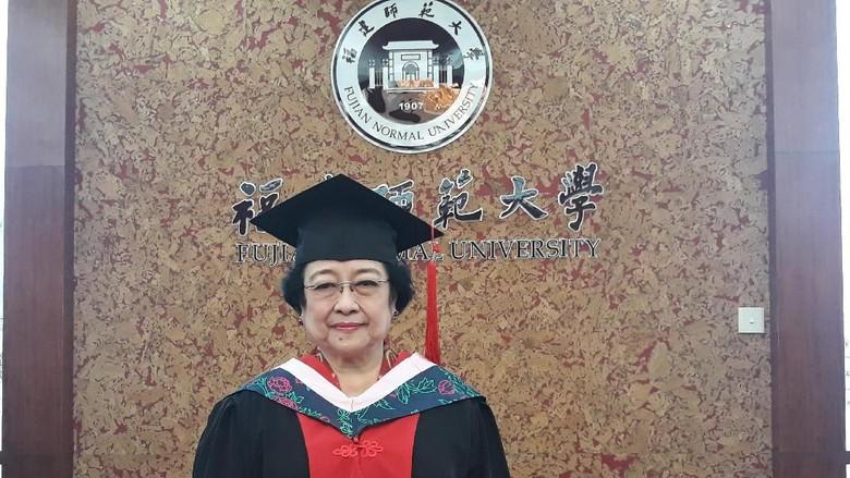 Terima Gelar 'Honoris Causa', Ini Orasi Ilmiah Megawati