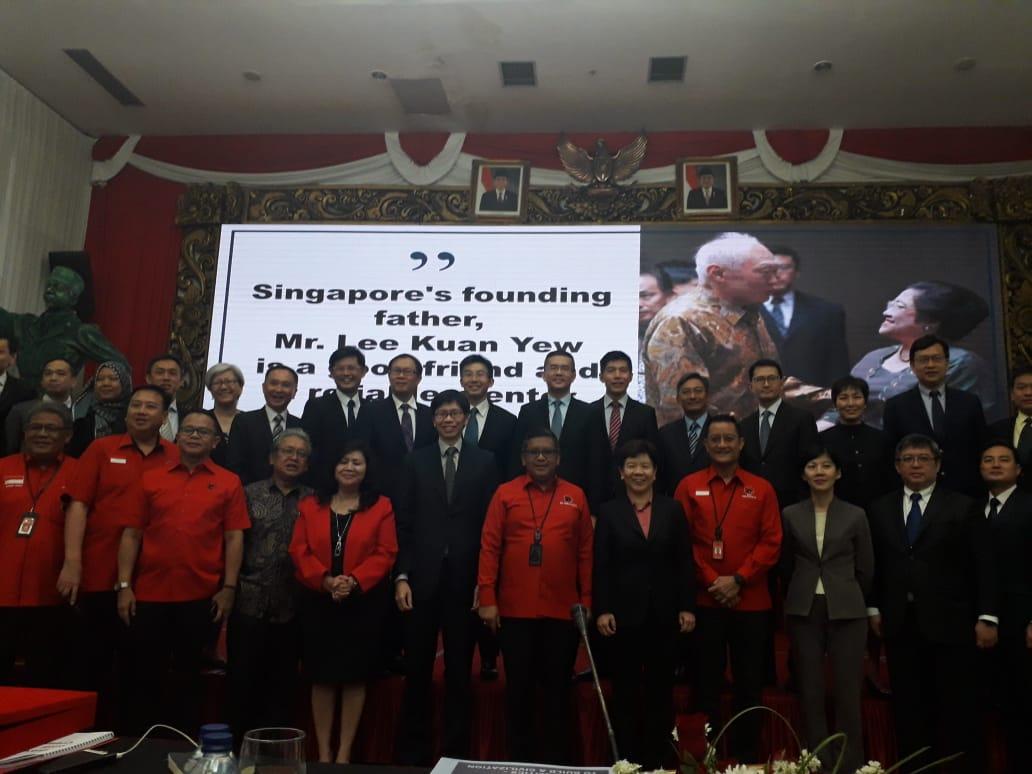 PDI Perjuangan Terima Kunjungan LAP Singapura