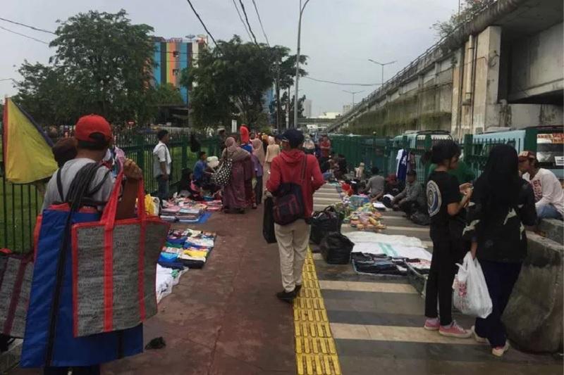DPRD: Tanah Abang Makin Semrawut, Perencanaan Tak Matang
