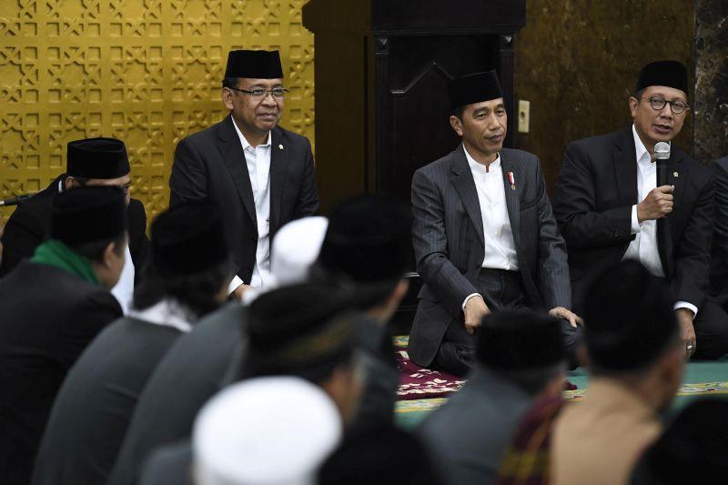 Presiden-Wapres Peringati Maulid di Istana Bogor