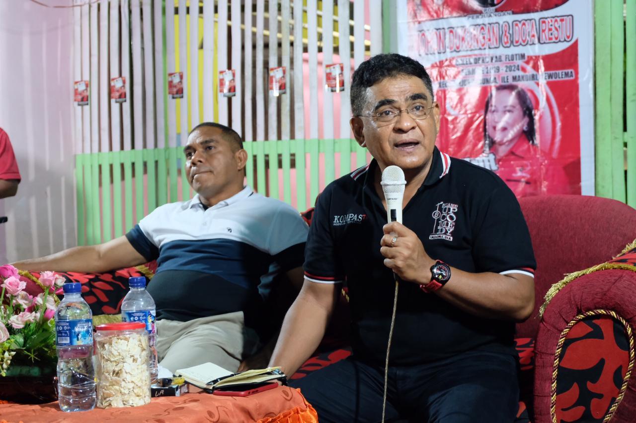 Andreas Terus Perjuangkan Pembangunan BTS di Indonesia Timur