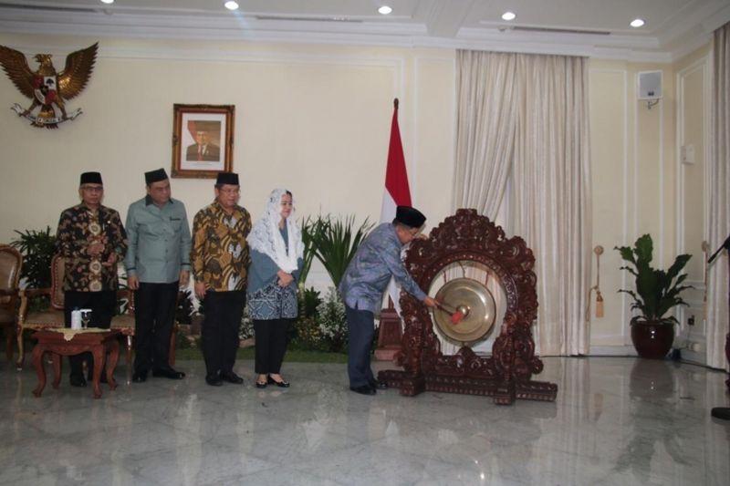 Menko PMK Hadiri Pembukaan Rakernas Dewan Masjid Indonesia