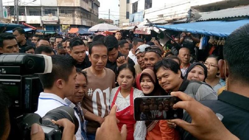 Jokowi: Orang Kaya ke Pasar, Tidak Belanja Tapi Bilang Mahal