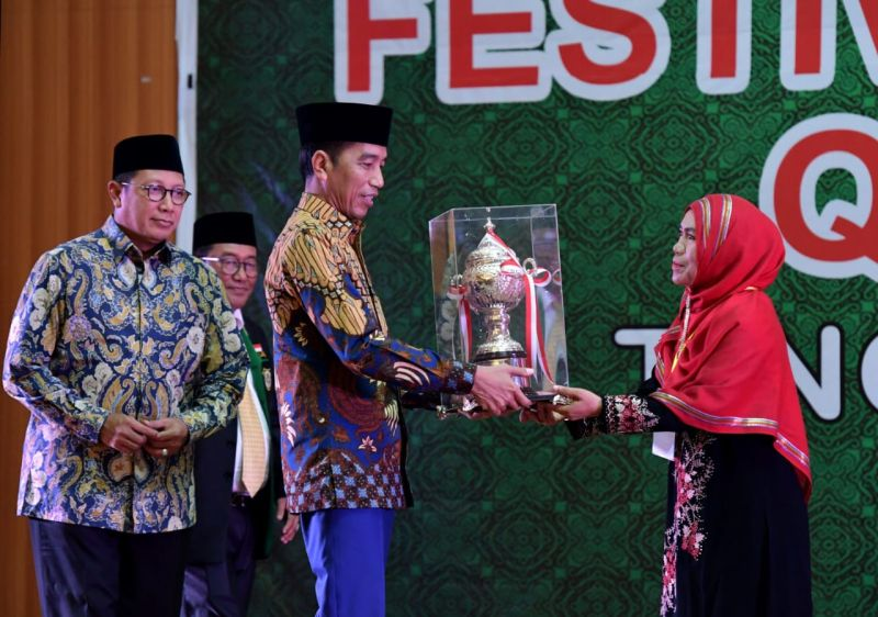 Presiden Sebut Qasidah Bangkitkan Optimisme Islam