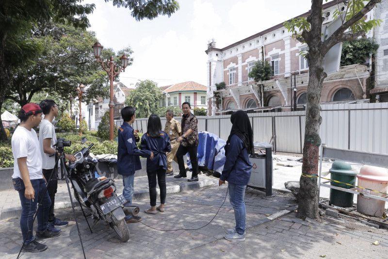 Hendi Pastikan Revitalisasi Kota Lama Semarang Rampung 2019