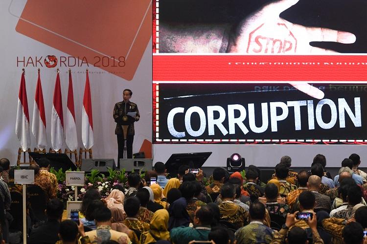 Ini Harapan Presiden di Hari Antikorupsi Se-Dunia
