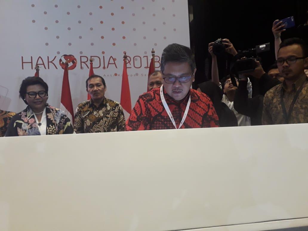 PDI Perjuangan Ikut Tanda Tangani Pakta Integritas KPK