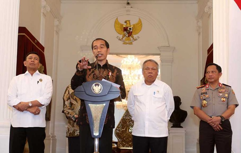 Jokowi Perintahkan Tumpas KKB di Papua Sampai ke Akarnya