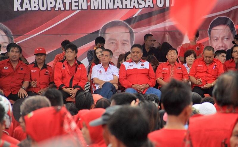 DPC Minahasa Utara Targetkan 12 Kursi DPRD dalam Pileg 2019