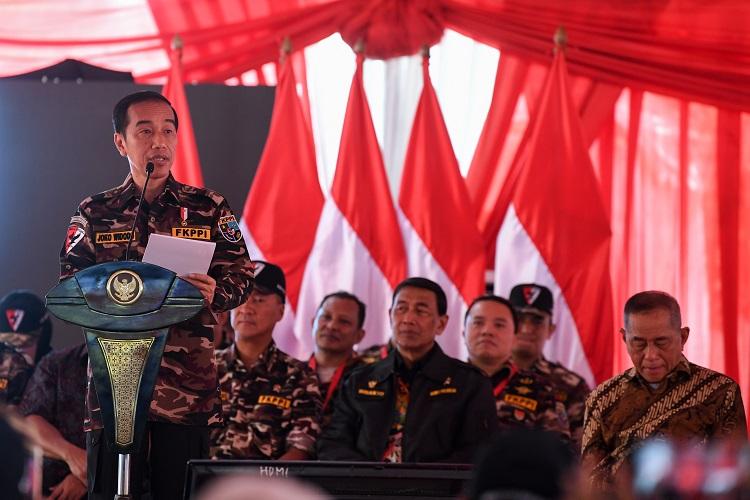 Presiden Ingatkan Jangan Lengah untuk Jaga Pancasila