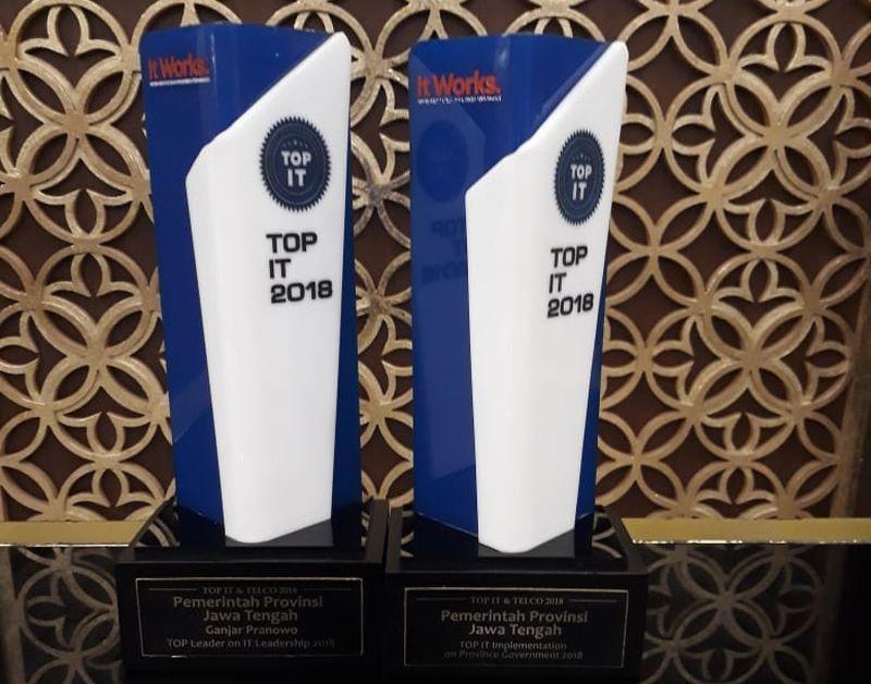 Jateng Kembali Raih Dua Penghargaan Top IT
