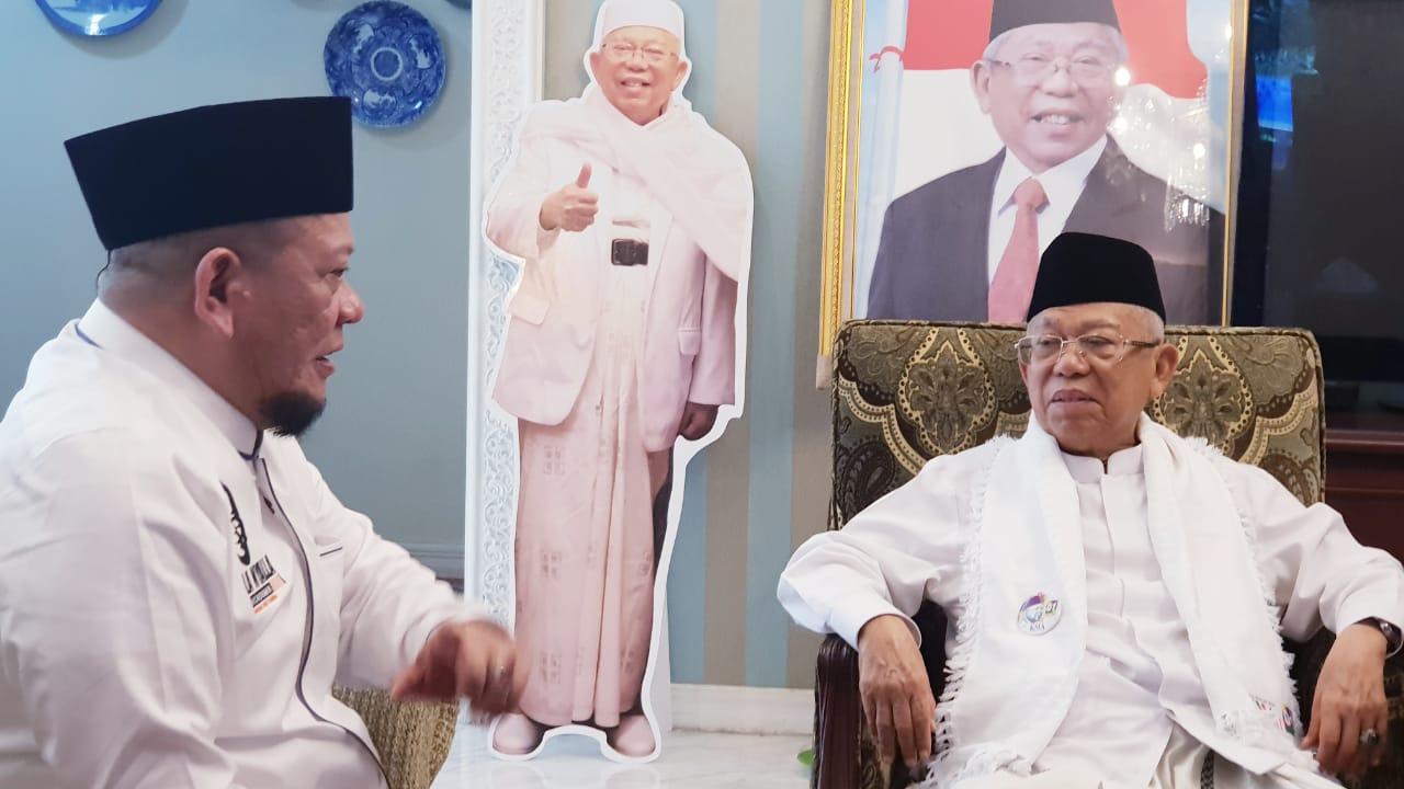 Lupakan Prabowo, La Nyalla Beralih ke Jokowi-Kiai Ma'ruf