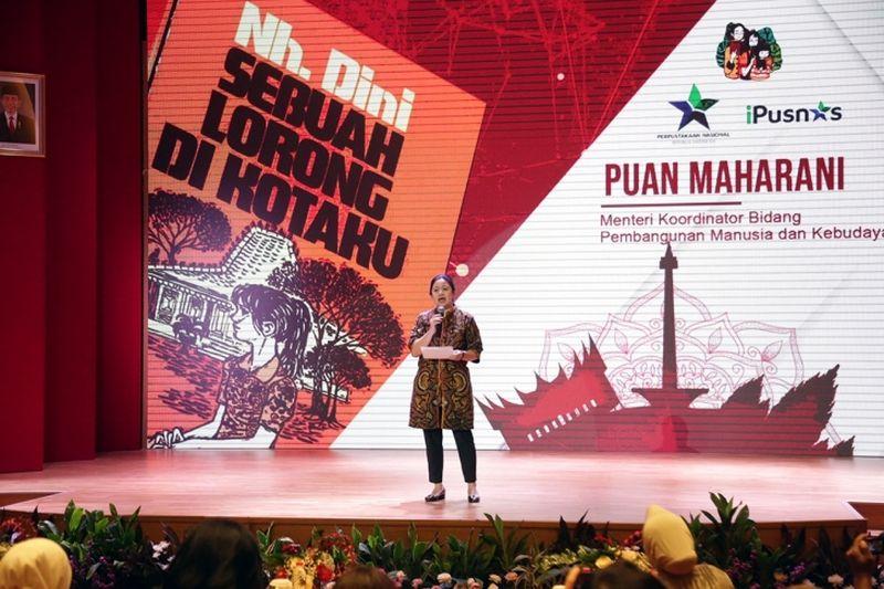 Menko Puan Ajak Ibu Indonesia Tularkan Kebiasaan Membaca