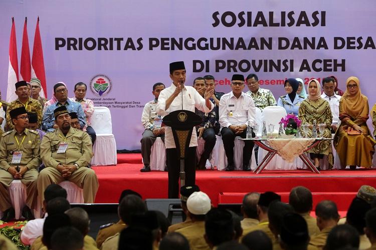 Presiden Ingatkan Dana Desa Harus Tepat Sasaran