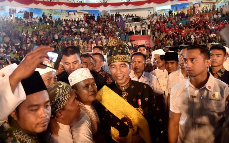 Hadiri Pagelaran Budaya, Presiden Ajak Jaga Kerukunan
