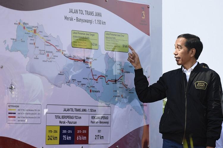 Presiden Jokowi Beberkan Fungsi Jalan Tol Trans Jawa