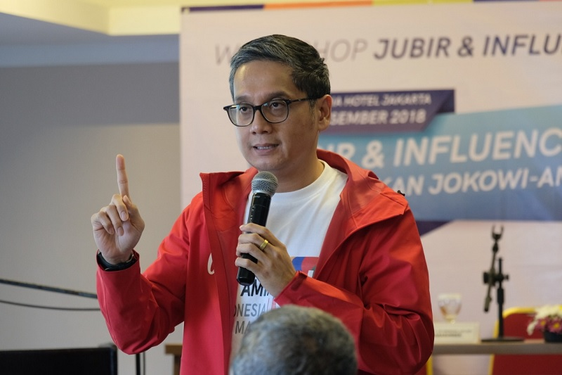 Putra Optimistis Jokowi-Ma'ruf Unggul Hingga Pencoblosan