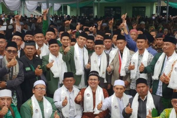 Jokowi Dibilang Kader PKI, Ma'ruf Amin: PKI Mata Lu!