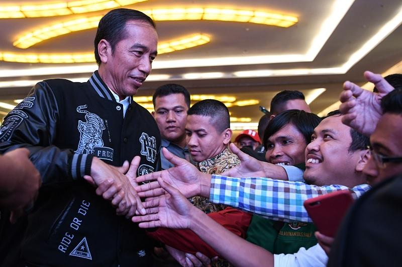 Presiden Jokowi Terus Bekerja Meski Kerap Diserang Hoax