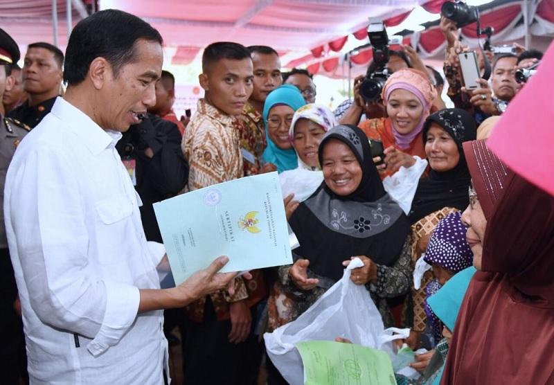 Komitmen Reforma Agraria Jokowi Demi Keadilan Rakyat