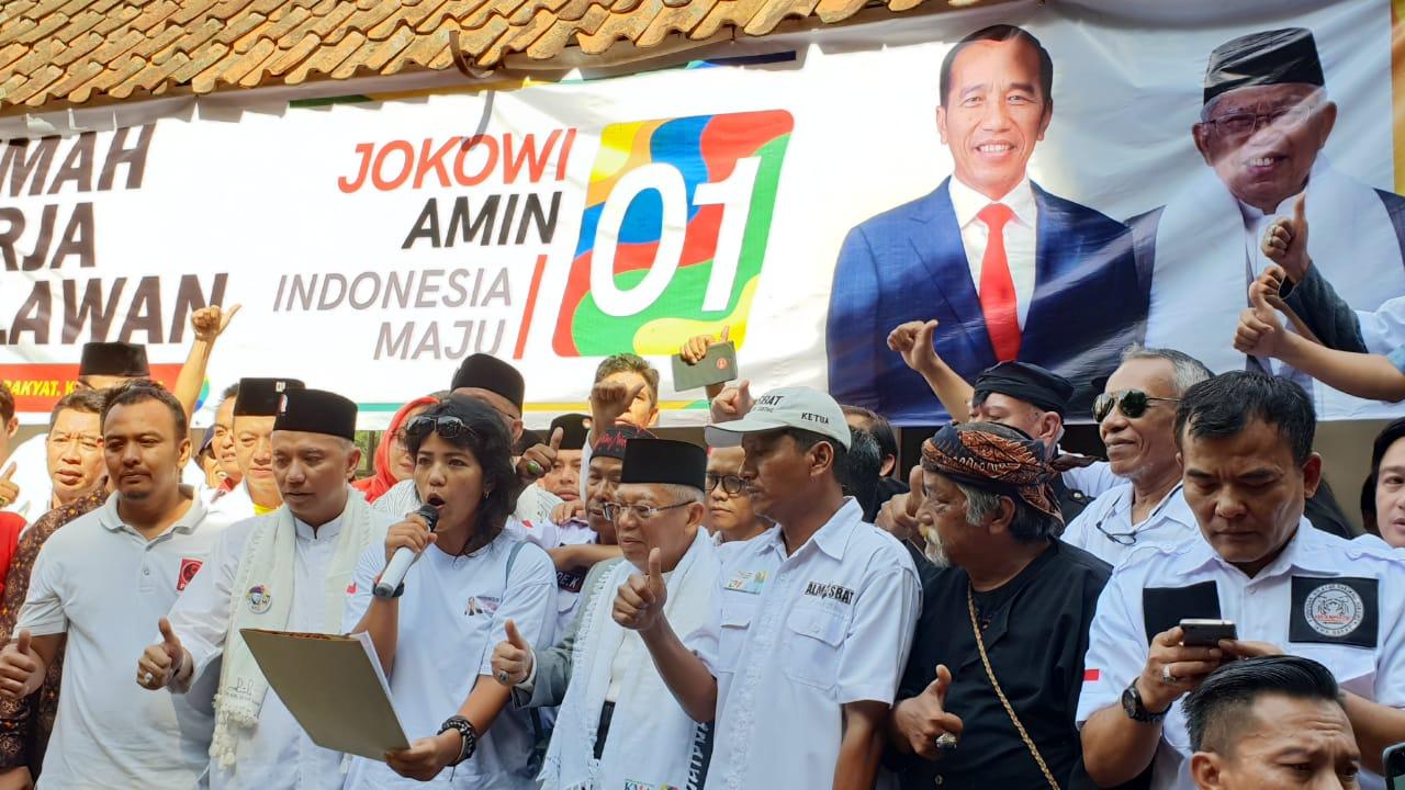 Relawan di Bogor Siap Menangkan Jokowi-Kiai Ma'ruf