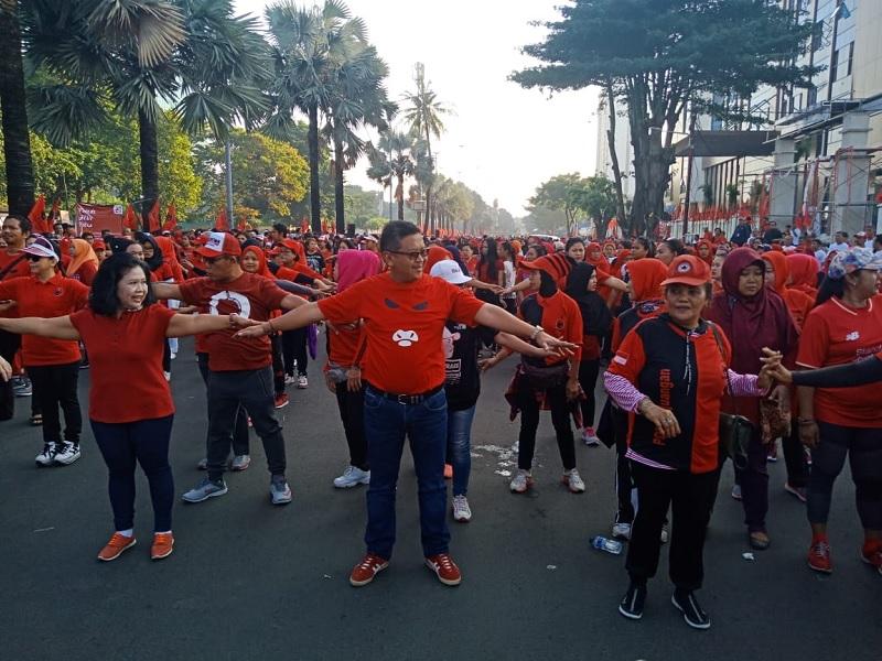PDI Perjuangan Gelar Parade Akhir Pekan Sambut HUT ke-46