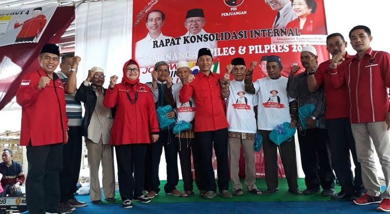 DPC Lampung Barat Targetkan Empat Kursi pada Pileg 2019