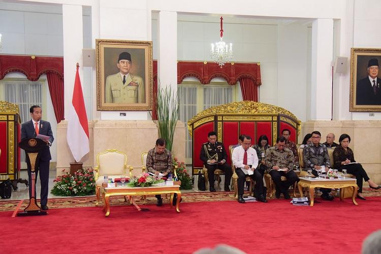 Presiden: Tahun 2018 Perekonomian Indonesia Tumbuh Positif