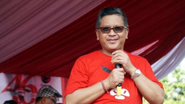 Hasto: Awal Tahun 2019 Prabowo-Sandi Kalah 5-0
