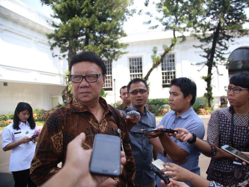 Menteri Tjahjo Sebut Ada Upaya Delegitimasi Pemilu