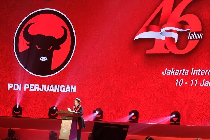 Megawati Tegaskan PDI Perjuangan Bukan untuk Kader Karbitan