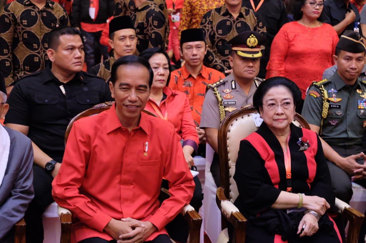 Presiden Jokowi Puji Megawati Sosok yang Inspiratif