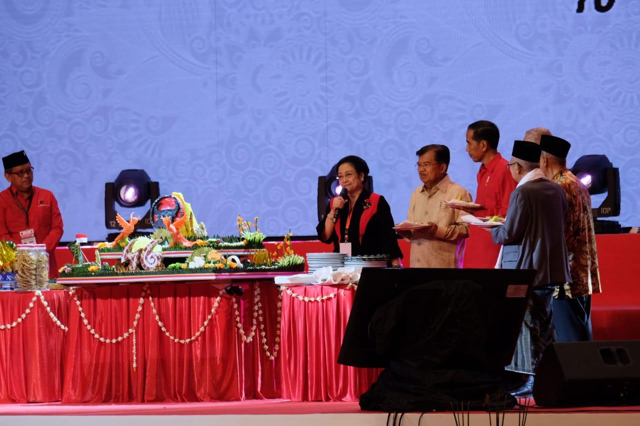 HUT ke-46 PDI Perjuangan, Megawati Kenang Saat Jabat Wapres