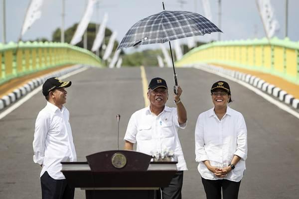 Menteri PUPR Resmikan Jembatan Leta Oar Ralan
