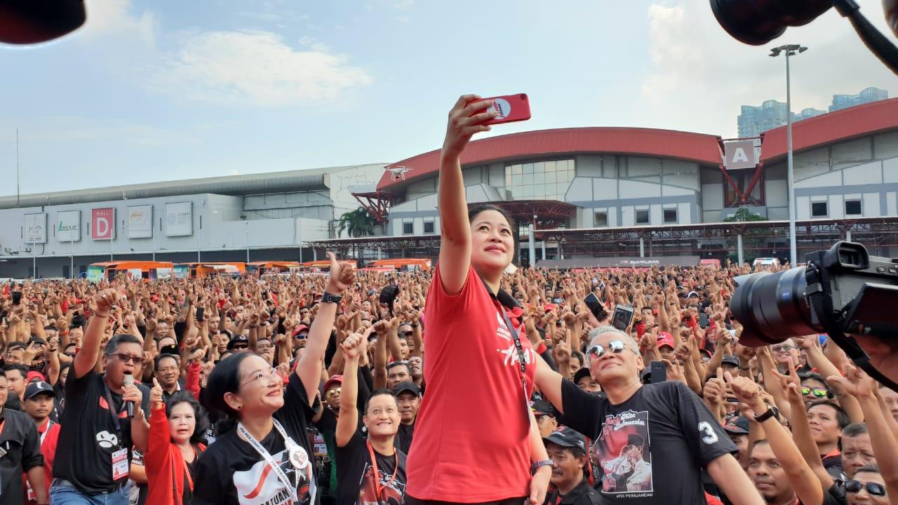 Rakornas Hari Kedua Diawali Senam dan Flash Mob
