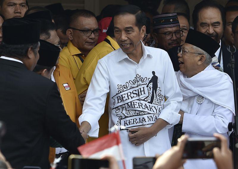 Jokowi-Ma'ruf Targetkan Kemenangan 75 Persen di Semarang