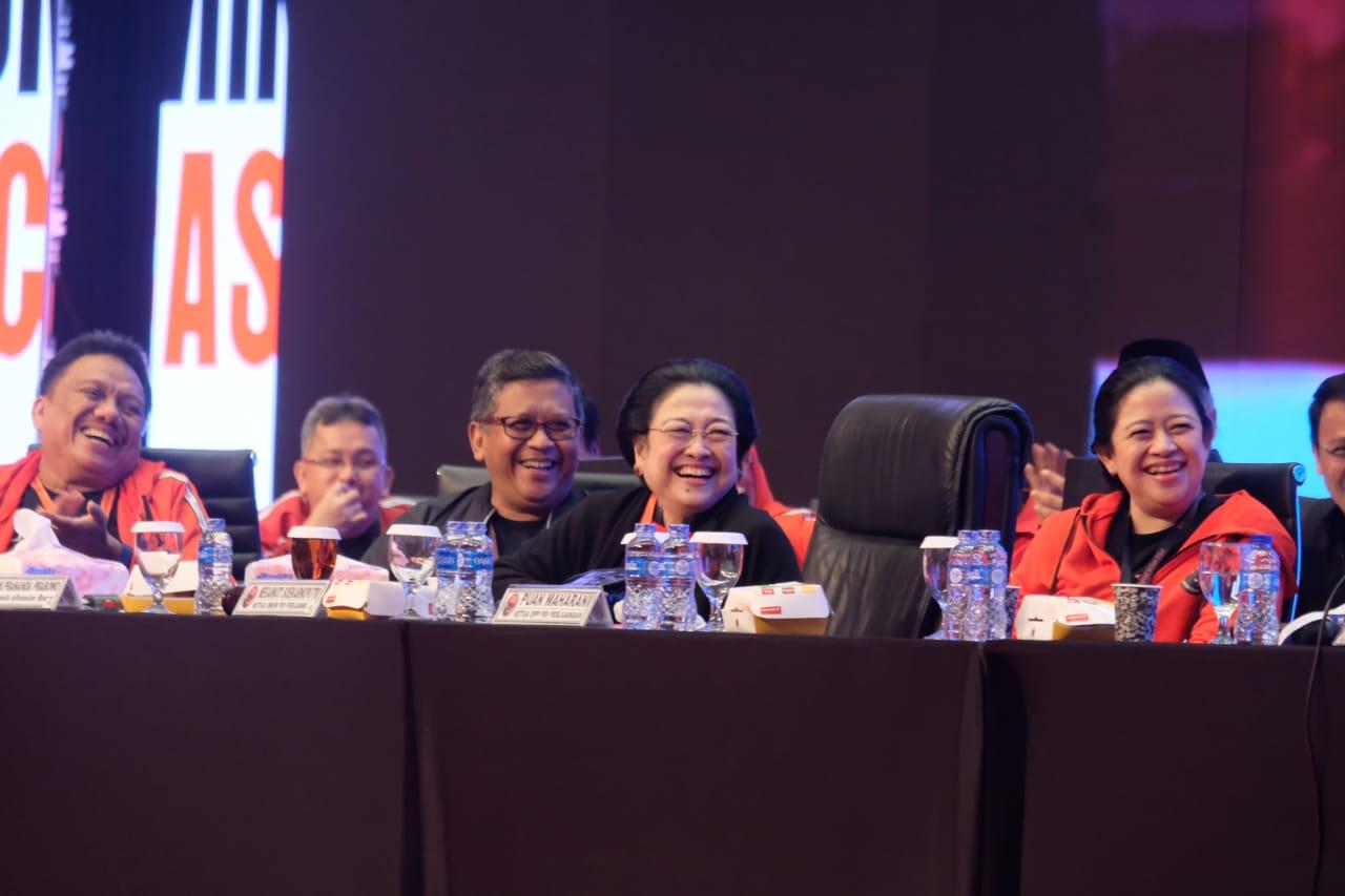 Megawati Tutup Rakornas PDI Perjuangan