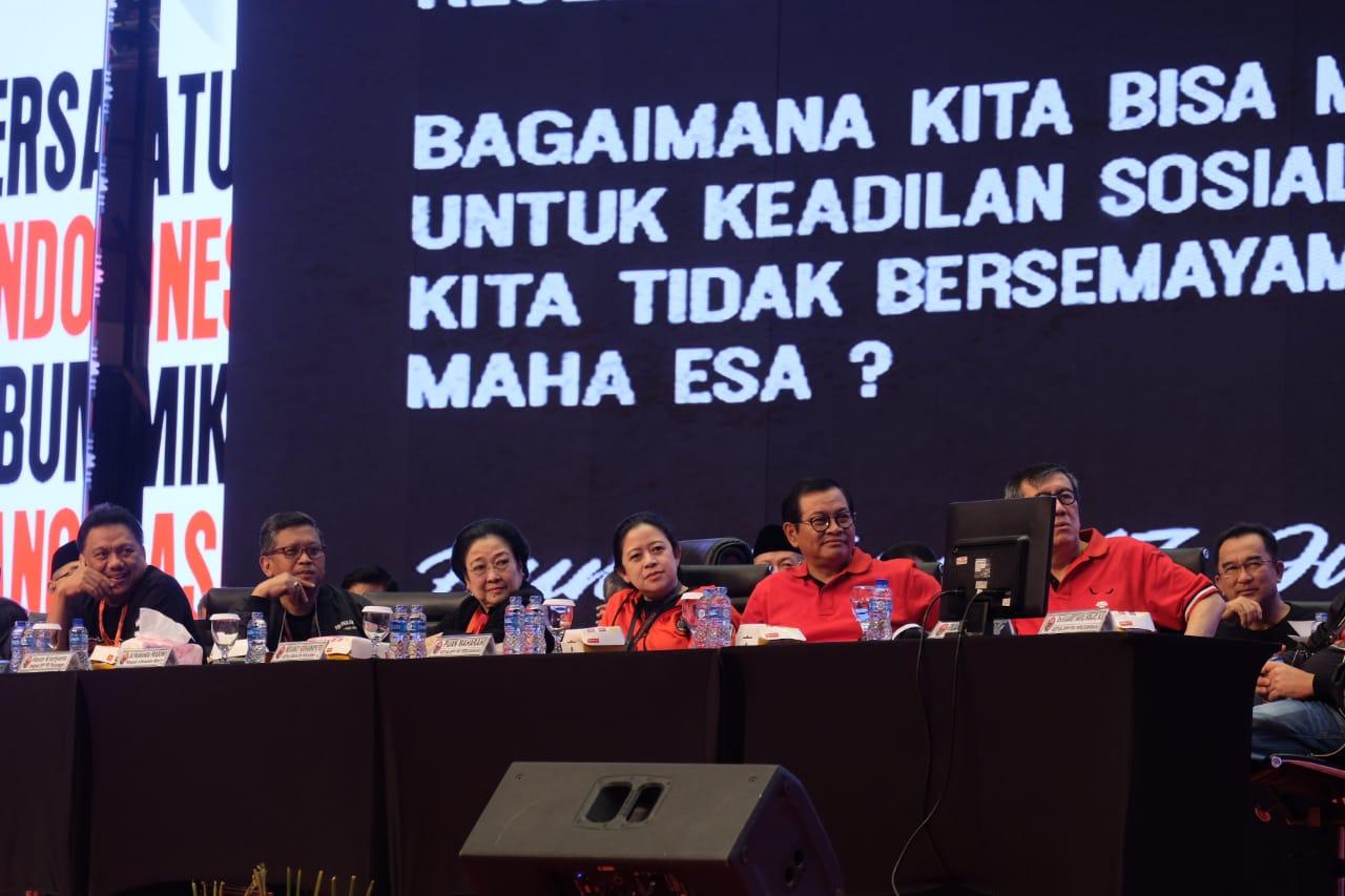 Tutup Rakornas, Megawati Berikan Arahan Umum