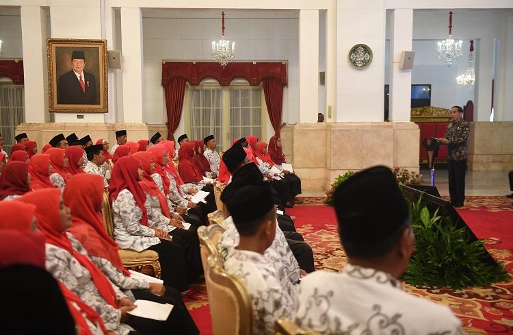 Presiden Jokowi Silaturahim dengan PGSI
