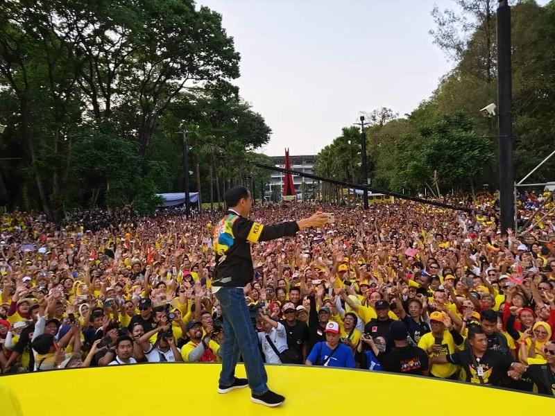 Pada Alumni UI, Jokowi: Pengalaman Seorang Pemimpin Penting