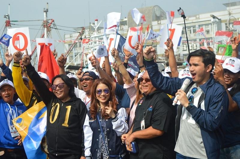 Anak Buah Kapal di Taiwan Deklarasi Dukung Jokowi-Ma'ruf