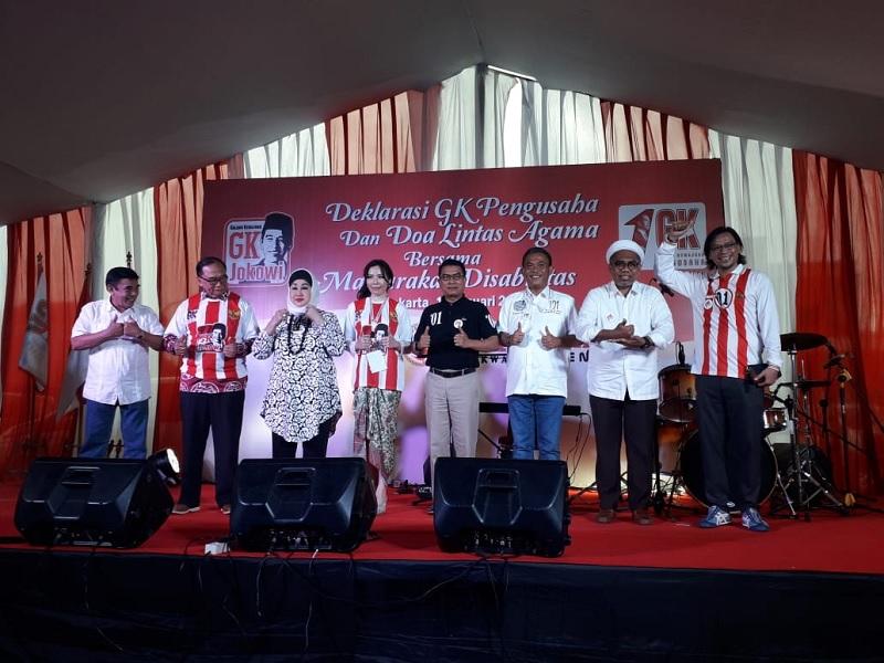 Relawan Galang Kemajuan Jokowi Nyatakan Dukungan Untuk 01