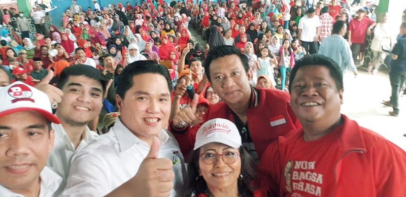 DPC Depok Gencarkan Sosialisasi Program Jokowi