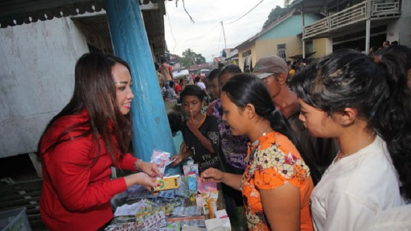 Baguna dan DPRD Gelar Pengobatan Gratis di Sanggau