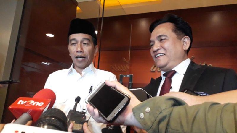 Jokowi Sebut Persiapan Debat