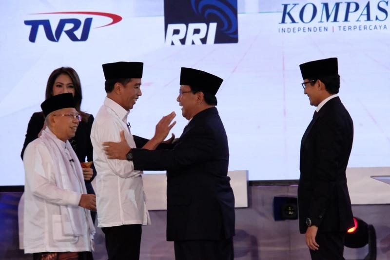 Prabowo-Sandi Empat Kali Eksekusi Gol Bunuh Diri