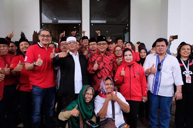 Safari Kebangsaan Kelima PDI Perjuangan Keliling Jakarta