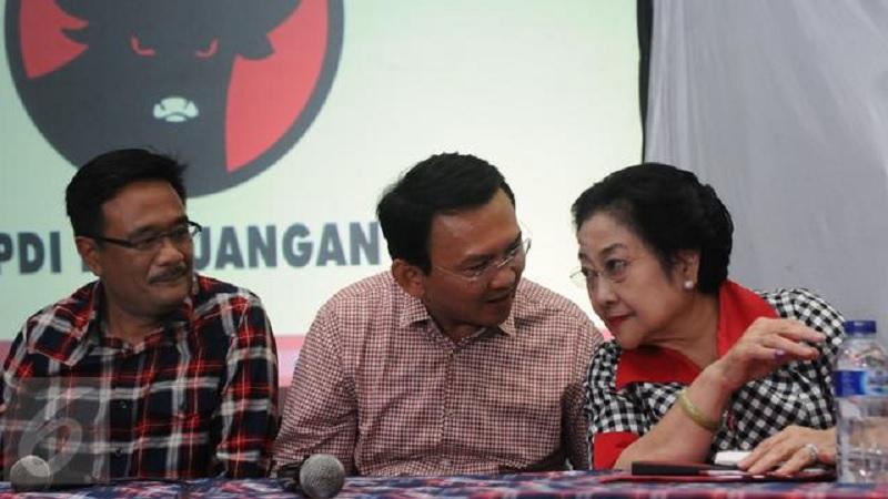 Megawati Selalu Kirim Makanan untuk Ahok